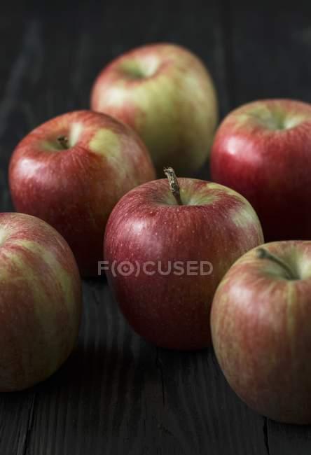 Fresh ripe apples — Stock Photo