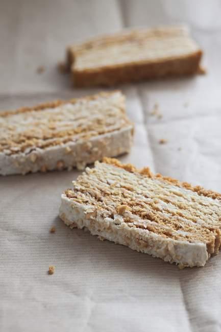 Мед Листковий пиріг — стокове фото