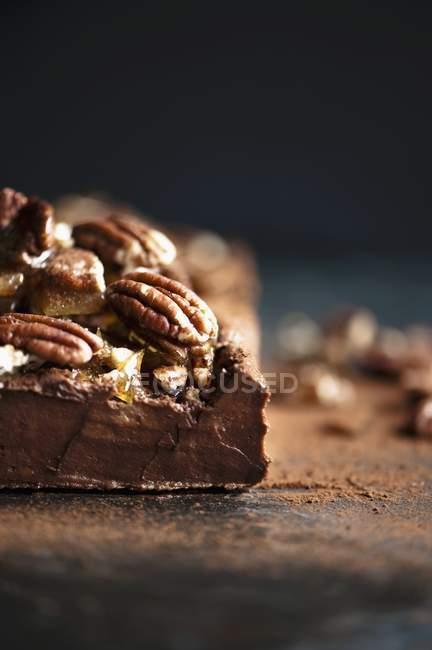 Темний шоколад Террін — стокове фото