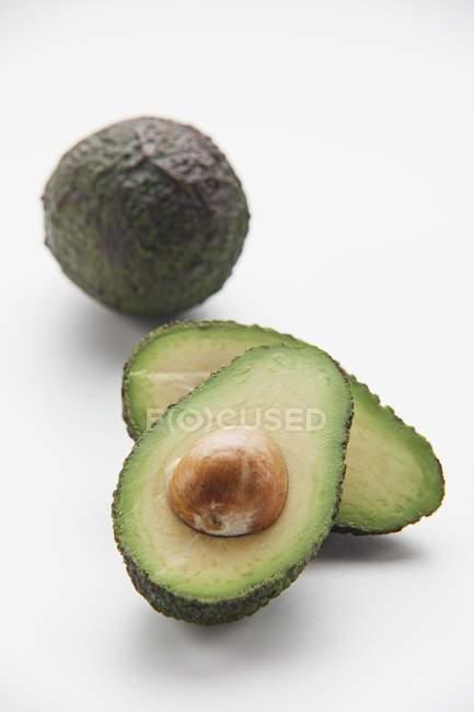 Fresh ripe Avocados — Stock Photo