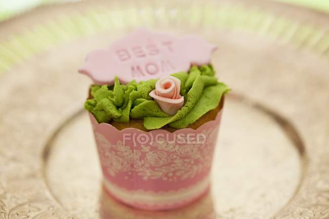 Cupcake for Mother's Day — Stock Photo