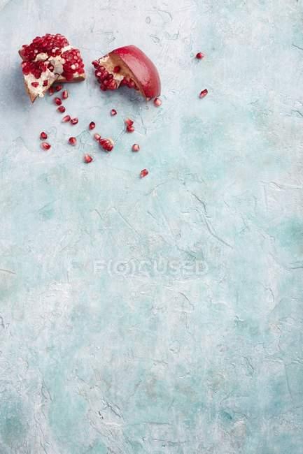 Червоний граната штук — стокове фото