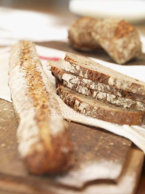 Країну хлібом і рулони — стокове фото