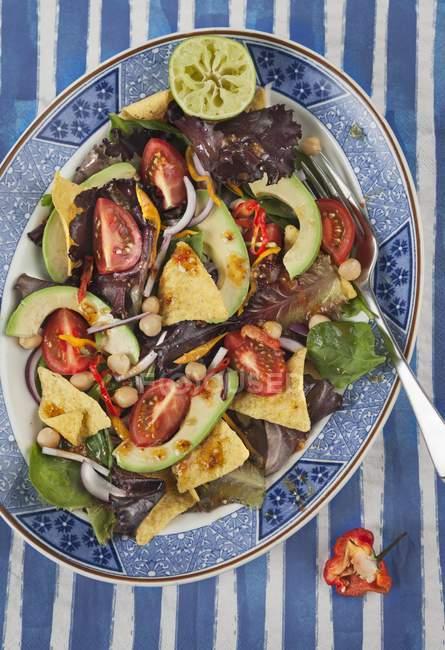 Мексиканские тако салат — стоковое фото
