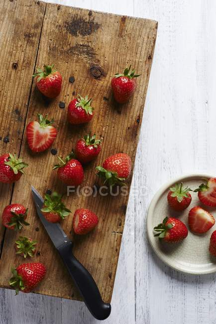 Fresh ripe Strawberries — Stock Photo