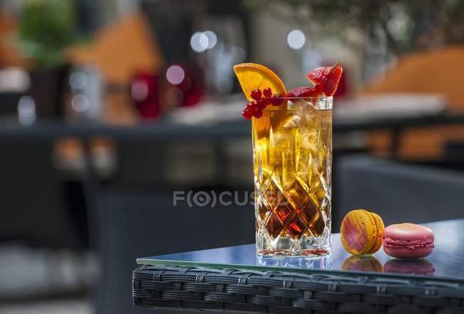 Cocktail de chá gelado — Fotografia de Stock
