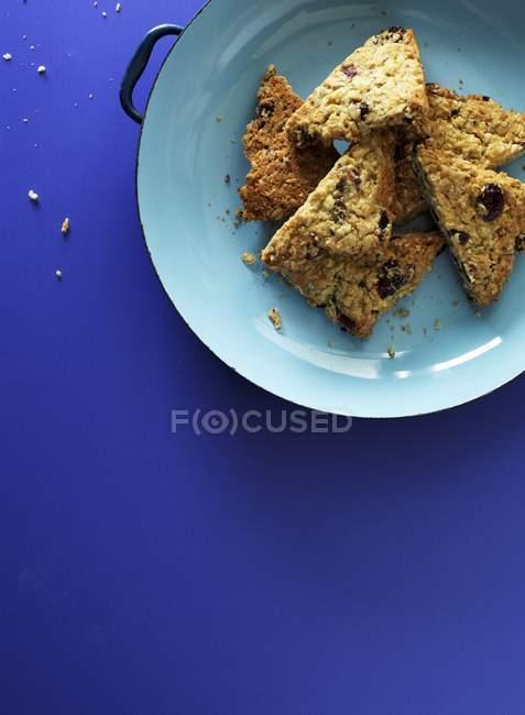 Muesli прутки з Овес і сушеної журавлини — стокове фото
