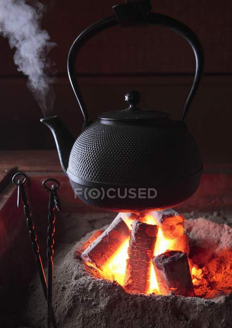 6/24/18-6/30/18 Focused_154682032-Closeup-view-steaming-kettle-sunken