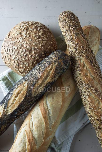 Hafer-Brot — Stockfoto