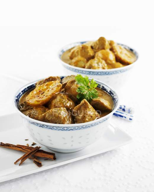 Massaman Curry Lammfleisch — Stockfoto
