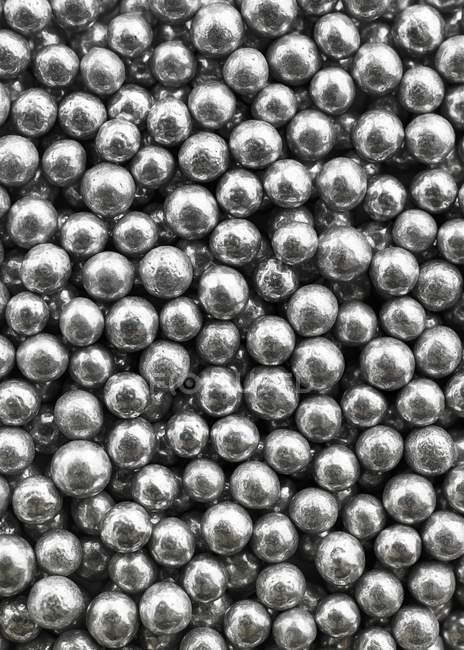 Perle d'argento commestibili — Foto stock