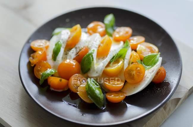 Insalata di cocktail arancione — Foto stock