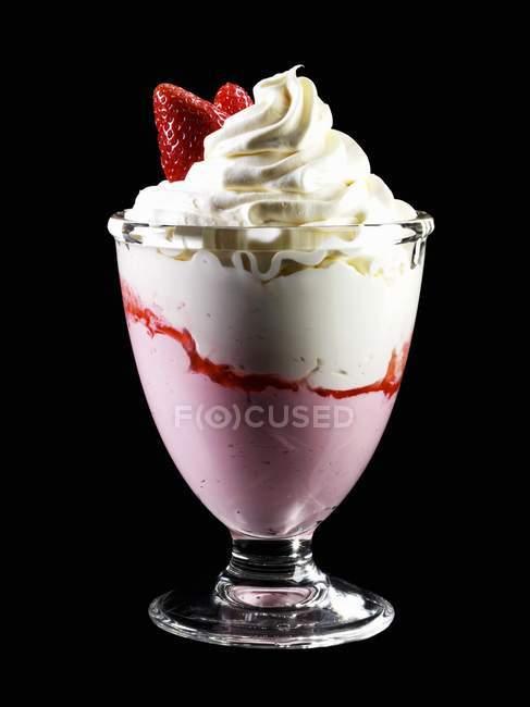 Glace au yaourt — Photo de stock