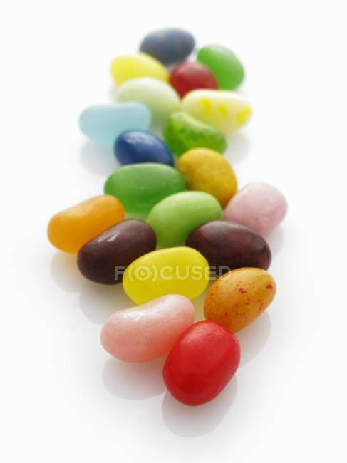 Colourful jelly beans — Stock Photo