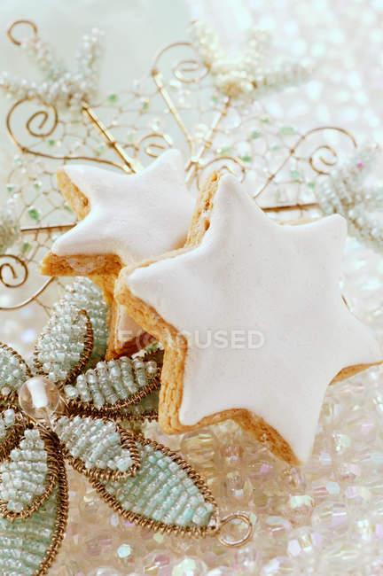 Étoiles de cannelle douce — Photo de stock