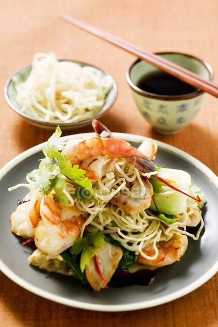 Indonesian dish Bami Goreng — Fotografia de Stock