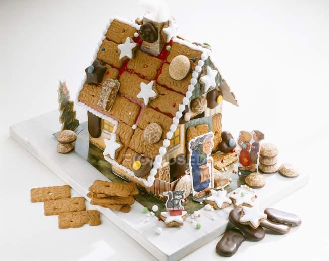 Casa de caseiro de gengibre — Fotografia de Stock