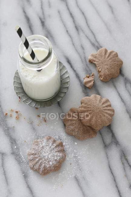 Gluten-free biscuits — Stock Photo