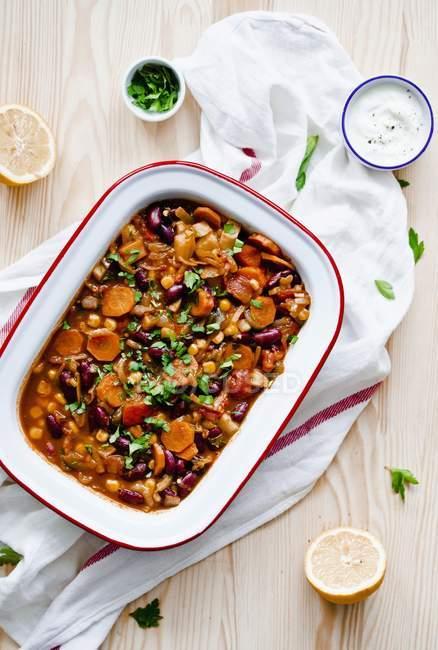 Chili sin carne — Foto stock