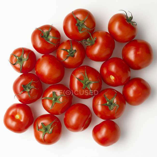 Raw red tomatoes — Stock Photo