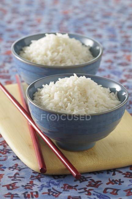 Riz blanc cuit — Photo de stock