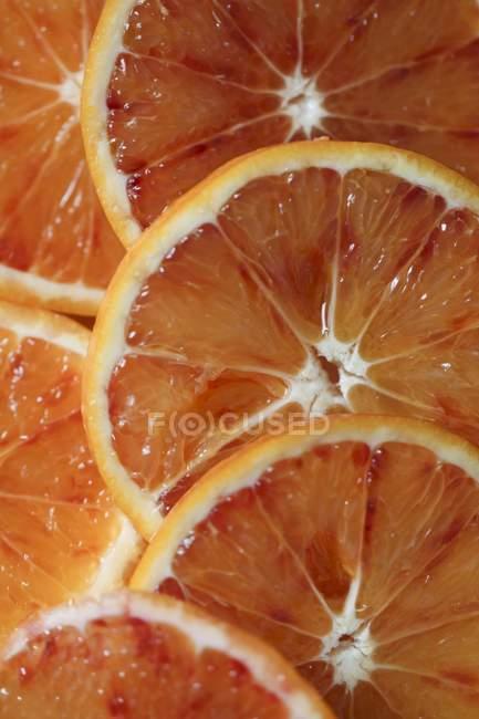 Slices of blood orange — Stock Photo