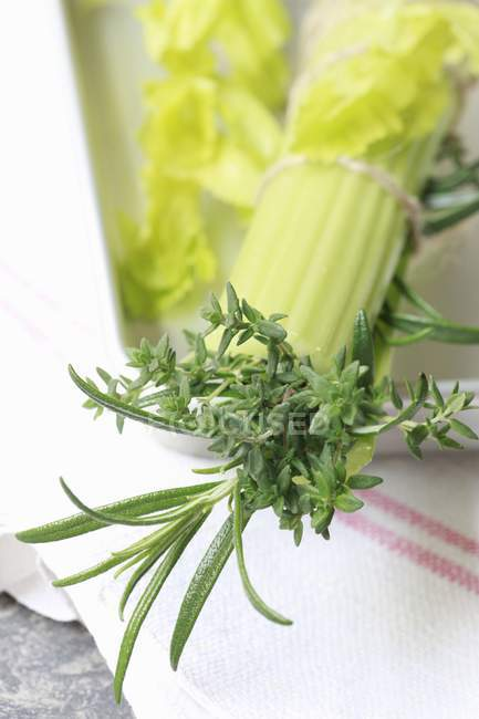 Bouquet garni avec céleri — Photo de stock