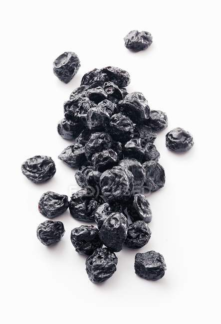 Heap of Dried blueberries — Stock Photo