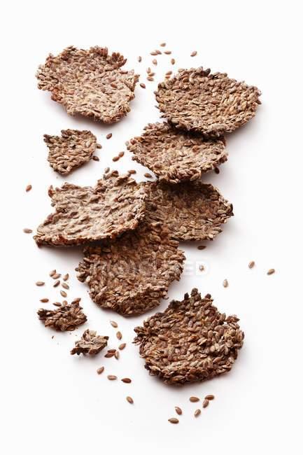 Biscotti di seme e banana — Foto stock
