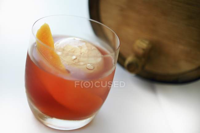 Old Fashioned cocktail — Stock Photo