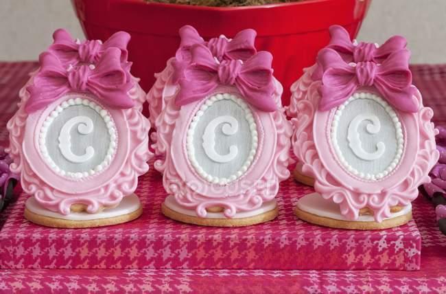 Elaborar decorações de açúcar — Fotografia de Stock