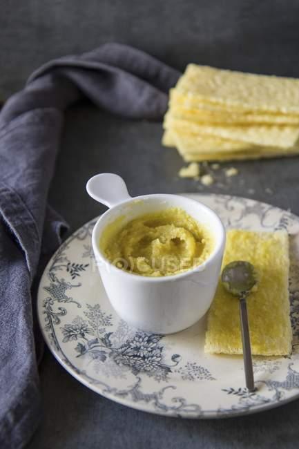 Crème de noix de cajou — Photo de stock