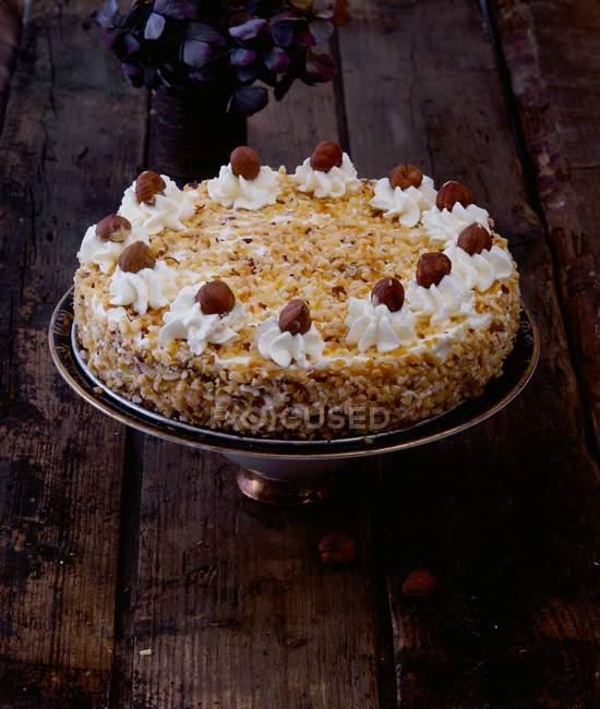 Gâteau aux noisettes orientales — Photo de stock
