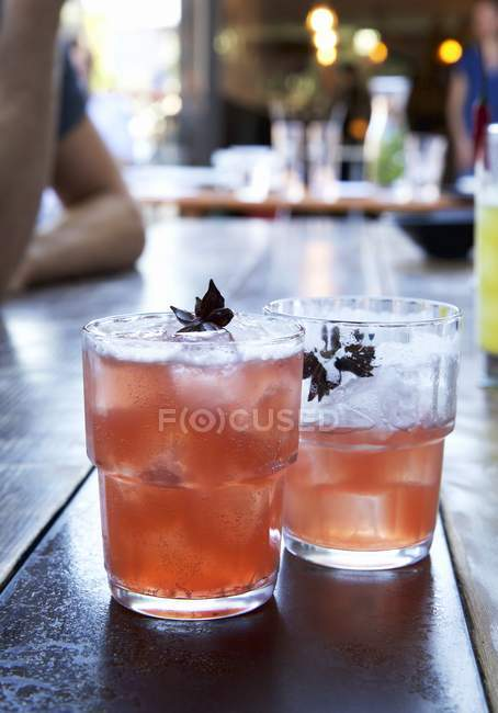 Виски с анисом — Stock Photo