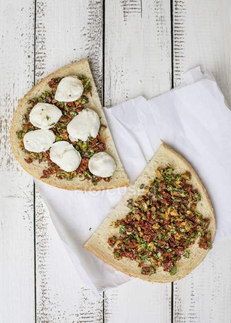 Italien sandwich frit — Photo de stock