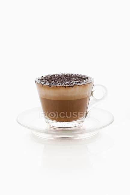 Cup of cappuccino contessa — Stock Photo