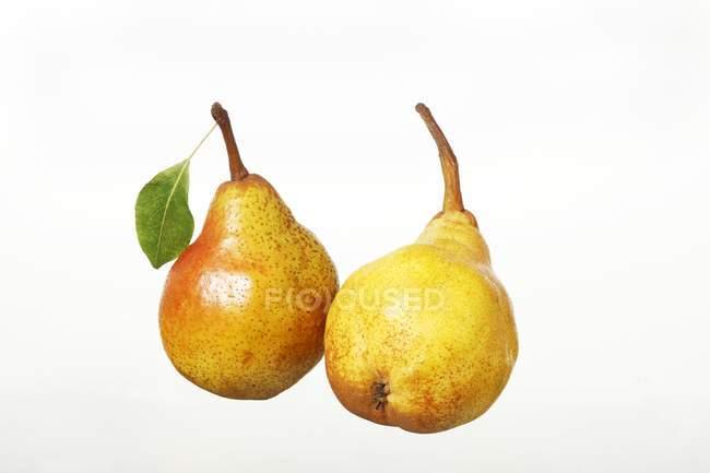 Peras Williams maduras frescas — Fotografia de Stock