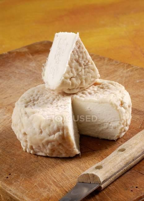 Итальянские козьим сыром — стоковое фото