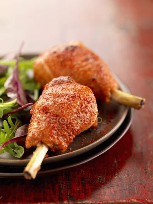 Muslitos de pollo al estilo Tandoori - foto de stock