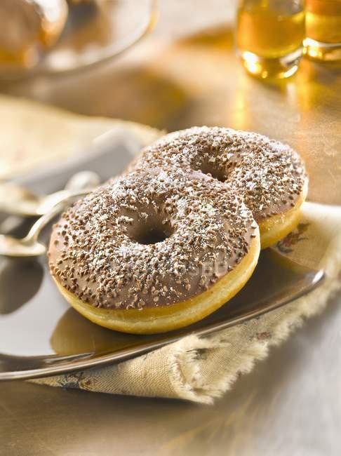 Donuts Choco Coco - foto de stock