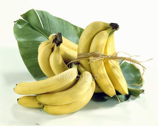 Свежие спелые бананы — стоковое фото