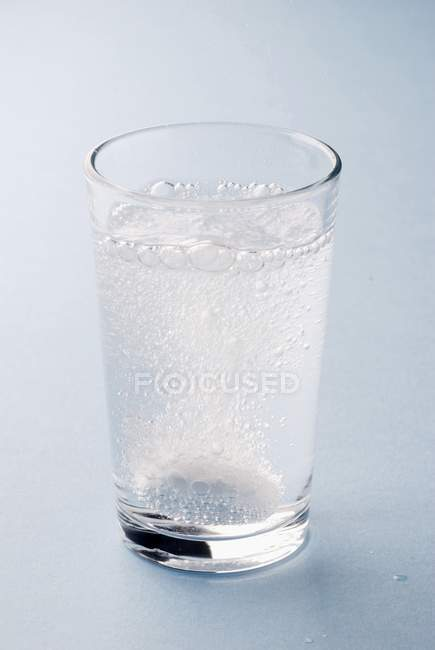 Comprimido efervescente de vitamina C — Fotografia de Stock