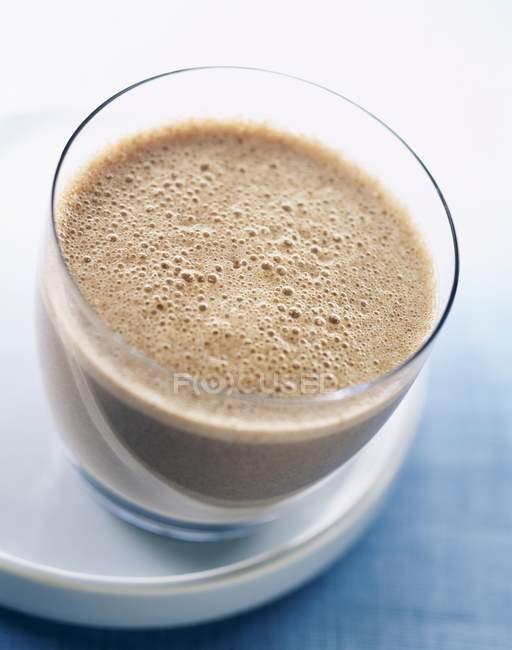Batido de leite de chocolate — Fotografia de Stock