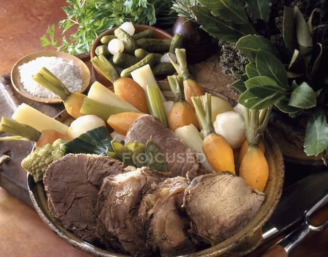 Pot-Au-Feu — стоковое фото