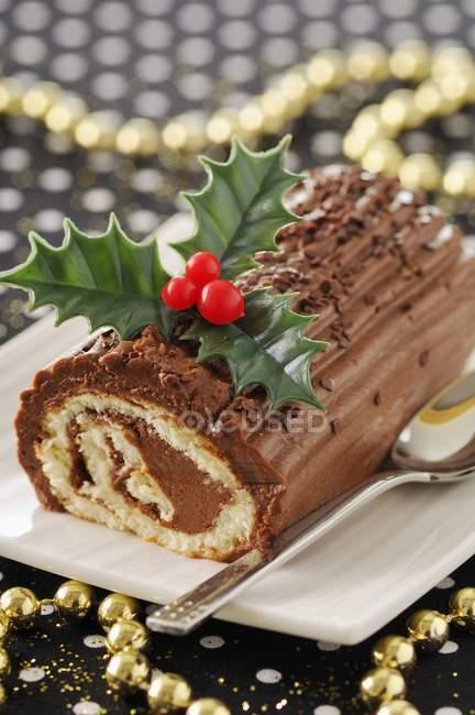 Торт шоколадний журналу — стокове фото