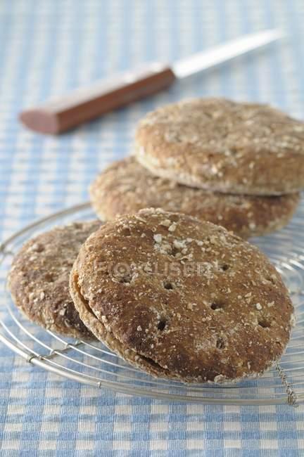 Englische Roggen cookies — Stockfoto