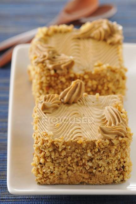 Closeup view of Coffee Mocha cake — Stock Photo