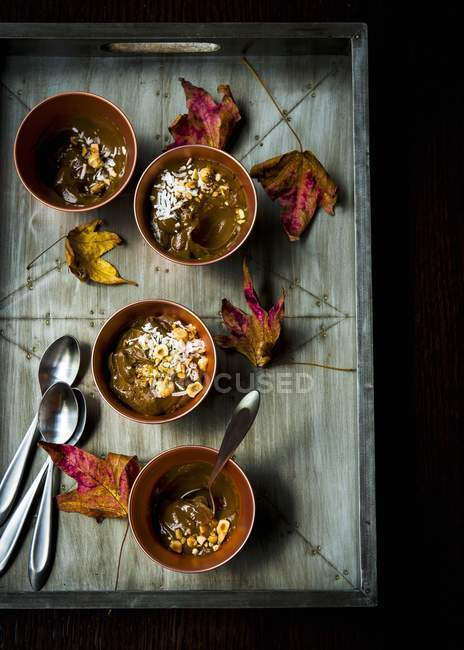 Budín mexicano sin gluten - foto de stock