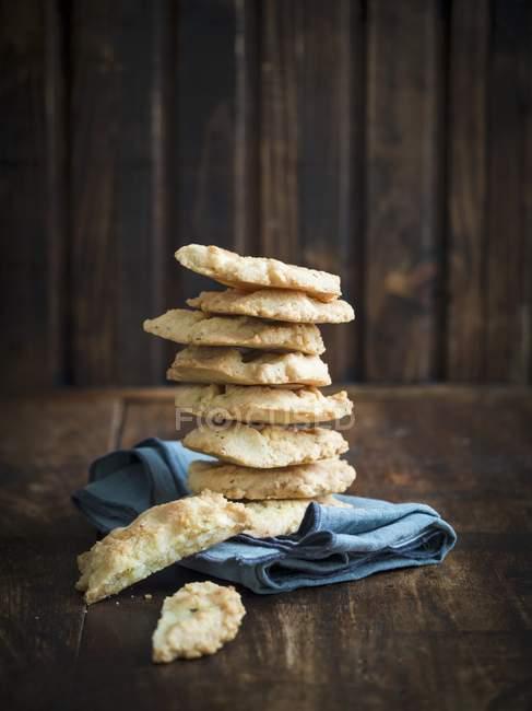 Kleine herzhafte Brote — Stockfoto