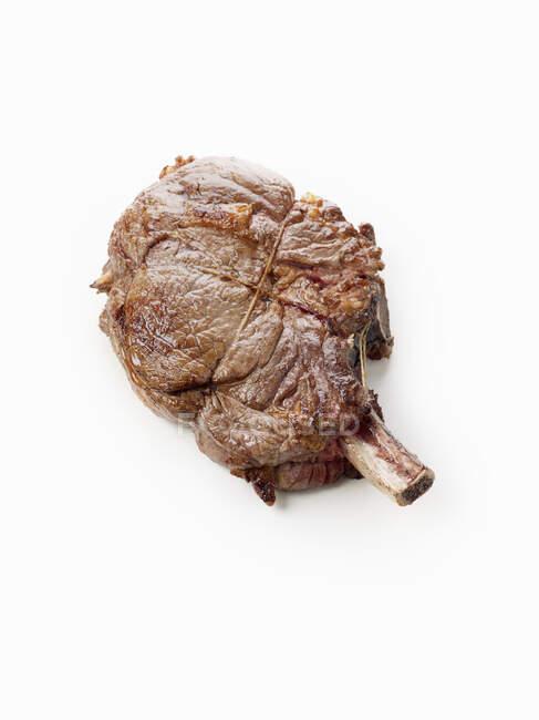 Cte de boeuf (яловичий відбиток) на білому тлі — стокове фото
